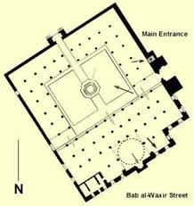floor plan of mosque altunbugha al maridani mosque in cairo