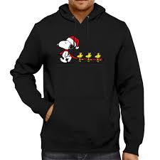 snoopy christmas sweatshirt peanuts christmas snoopy woodstocks pullover hoodie jacket