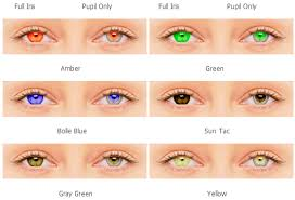 blue light filter contact lenses sports color contact lenses right eyes