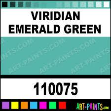 viridian emerald green professional watercolor paints 110075
