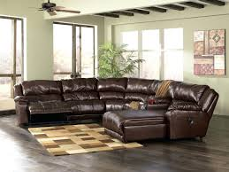 White Leather Sectional Sofa With Chaise L Shaped Broken White Leather Sectional Sofa With Recliner And