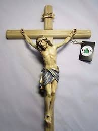large wall crucifix 21 painted carved wall cross beautiful all wood