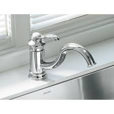 Kohler Brushed Nickel Kitchen Faucet Kohler Faucet K 12175 Bn Fairfax Vibrant Brushed Nickel One Handle