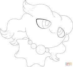 misdreavus pokemon coloring page free printable coloring pages
