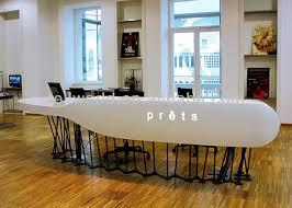 Mobile Reception Desk Artificial Marble Top Mobile Counter Design Reception Desk View