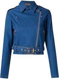 biker jacket women amapô cropped denim biker jacket women clothing jackets gazeta