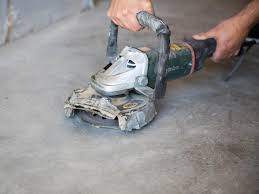 Sandpaper For Concrete Floor by How To Apply An Acid Stain Look To Concrete Flooring How Tos Diy