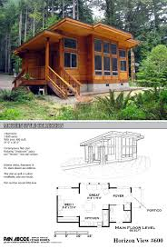 modern cabin floor plans this great looking 600 sq ft home is a kit from pan adobe cedar