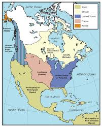 Louisiana Purchase Map by Westward Expansion Through Maps National Geographic Social