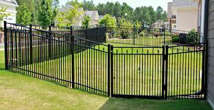 ornamental aluminum fencing seegars fence company