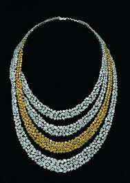diamond necklace collection images Popley diamond jewellery collection white and yellow diamonds jpg