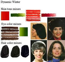 zyla blonde winters winter coloration dynamic winter skin tone color cadmium red