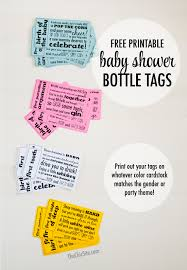 free printable baby shower gift tags wblqual com
