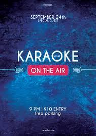 karaoke night flyer by muminjon12 graphicriver