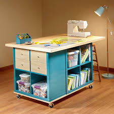 Craft Desk Diy 12 Awesome Diy Craft Tables With Free Plans Shelterness
