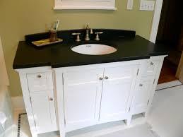 Best Bathroom Vanities Bathroom Best Mirror Bathroom Design Best - Black granite with white cabinets in bathroom