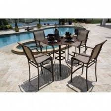 Bar Height Patio Chair Bar Height Patio Furniture Sets Foter