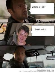 The Rock Meme Car - funny the rock car meme on imgfave