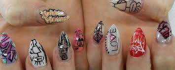 home graffiti nail bar