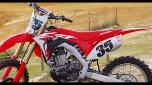 motocross action 450 shootout first ride 2017 honda crf 450 motocross action magazine youtube