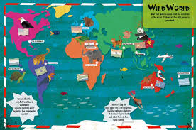 Red Sea On A World Map by Adventures In Wild Places Activities And Sticker Books Lonely