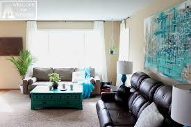 Living Room Makeover Spring Home Decor Wel e to the Woods