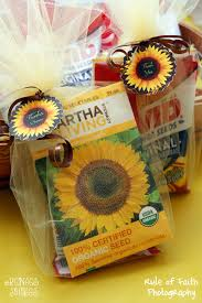 sunflower seed wedding favors real party sunflowers burlap renee s soirees