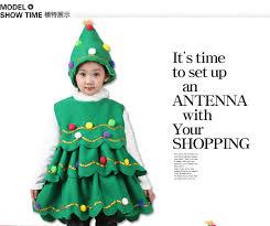 baby girls winter thick dresses children christmas tree tutu