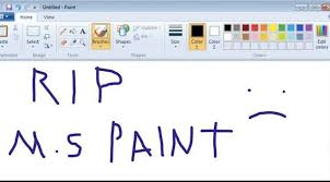 microsoft paint to be brushed aside in windows 10 update