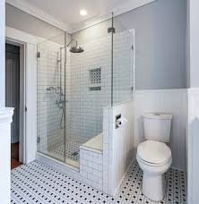 96 Bathroom Vanity by 96 Inch Shower With Shower Bench Bathroom Traditional And