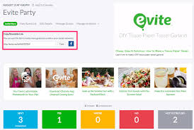 free evite templates evite send guests invitation link for free inv