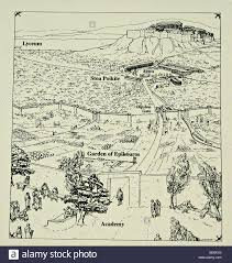 A Map Of New York State by Map Of Hellenistic Philosophical Schools 323 31 Bc Athens