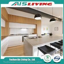 armoire de cuisine stratifié chine préfabriqué nouveau modèle commercial mdf stratifié en bois