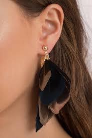 feather earrings nz nesty multi feather earrings nz 15 tobi nz