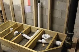Bathtubs  Excellent Basement Bathroom Plumbing Rough In - Plumbing for bathroom