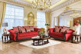 Formal Living Room Set by Furniture Of America Corinna Formal Living Room Set
