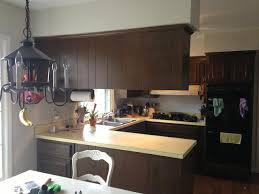 Paint Laminate Kitchen Cabinets by Painting Over Laminate Cabinets