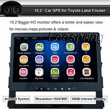 mirror link android 10 2 inch 1024 600 android car gps radio for toyota land