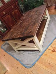 Wood Coffee Table Rustic Rustic Coffee Table Success Do It Yourself Home Projects From