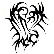 a very nice tribal tattoo on biceps photos pictures and