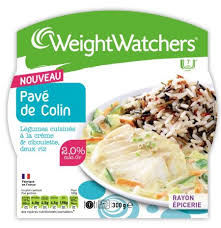 plat cuisiné weight watcher weight watchers pavé de colin légumes cuisinés à la crème et