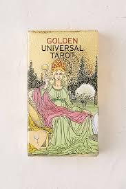golden universal tarot card deck outfitters