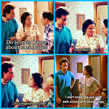 seinfeld garage the hamptons elaine it shrinks jerry like a frightened