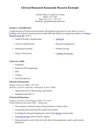 example summary for resume of entry level cra sample resume free resume example and writing download cra resume sample clinical research associate resume