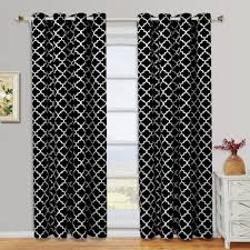 Mickey And Minnie Window Curtains by Black U0026 White Curtains Seasonal Sale U2013 Ease Bedding With Style