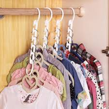 space saver saving wonder magic hanger clothes closet organize