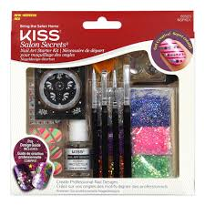kiss salon secrets nail art starter kit nspk01 pro design guide