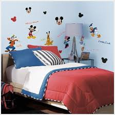 Mickey Mouse Room Decor Decals Of Mickey Mouse And Friends Mickey Mouse Wall Decor For