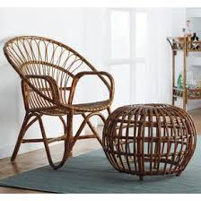 Outdoor Rattan Armchairs Santa Rosa Rattan Chair The Company Store