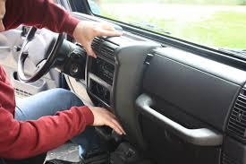 jeep wrangler yj dashboard upgrading a 2001 jeep wrangler stereo u2013 shanekirk com